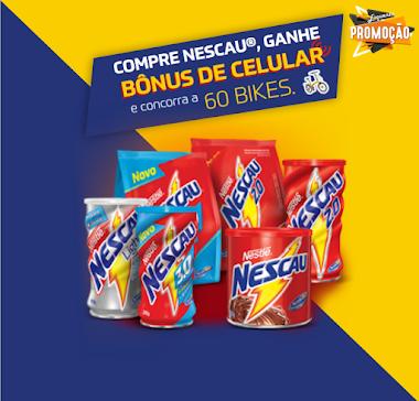 Compre R$ 10 em Produtos Nestlé  - Ganhe R$ 10 em Créditos - E Concorra a 60 Bikes