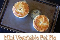 Mini Vegetable Pot Pie