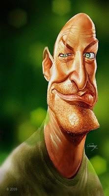 Caricatura de famoso