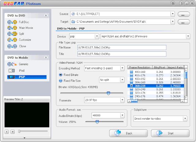 DVDFab Platinum 9.3.0.3 Crack