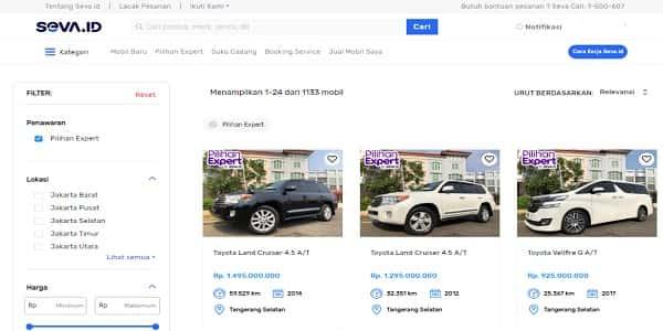 website jual mobil bekas terlengkap