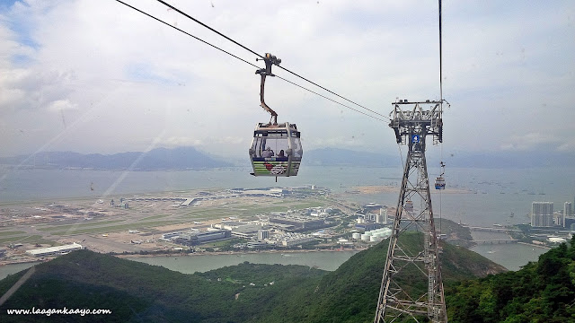 Cable Car at Ocean Park Hong Kong