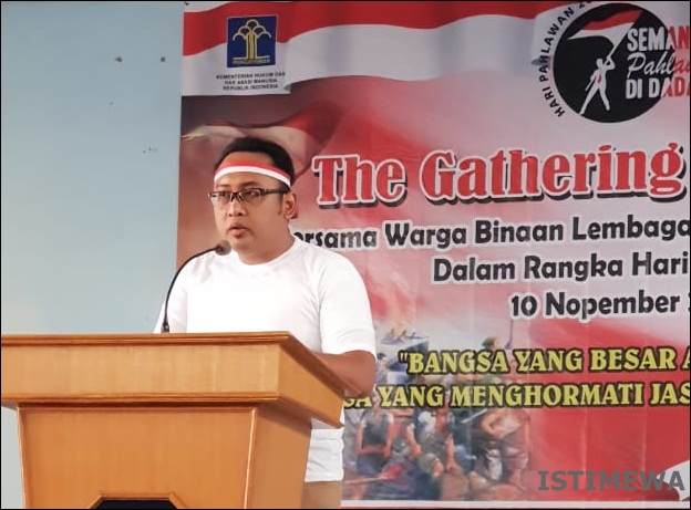 "Hari Pahlawan, Lapas Ciamis Gelar ""The Gathering of Heroes"""