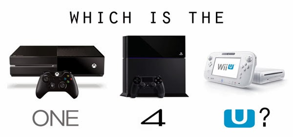 Playstation 4 vs Xbox One vs Wii IU Comparison» Which is ...  Playstation 4 v...