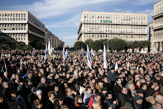 Up to 1,000 people attended Piergiorgio Welby's secular funeral in Piazza Don Bosco in the Tuscolano district