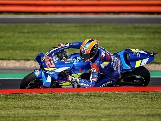 Alex Rins Juara MotoGP Silverstone Inggris 2019