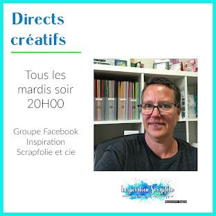 Atelier en direct sur mon groupe Facebook