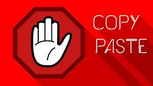 Css Anti Copas Di Blog Valid Amp