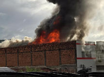 GUARABIRA - Incêndio no centro da cidade no prédio da SP variedades