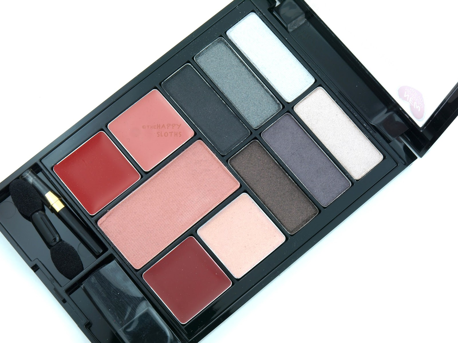 Revlon Eyes Cheeks Lips Palette In 200 Seductive Smokies Touch And Glow Face Powder 43 Gr Review Swatches