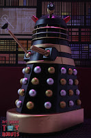 Custom Dr Who & the Daleks Black Dalek 17