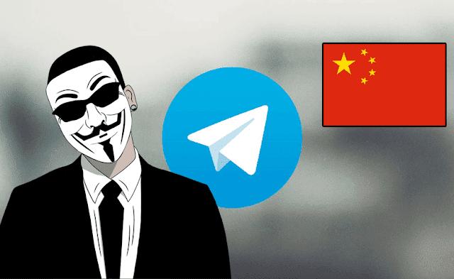 هجوم من الصين على تطبيق تيليغرام أدى إلى تعطله