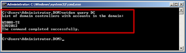 netdom query DC