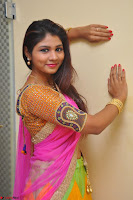 Lucky Sree in dasling Pink Saree and Orange Choli DSC 0383 1600x1063.JPG