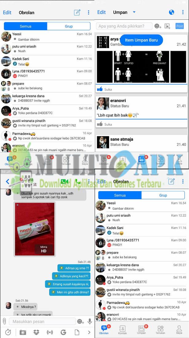 BBM Mod B-IOS Terbaru