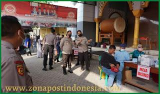 Gelar Vaksinasi AKBP Pandia Himbau Masyarakat Segera Mendaftarkan Diri Melalui Website Polres Bojonegoro