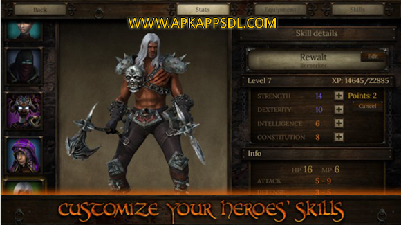 Download Arcane Quest 3 Apk Mod v1.3.1 Full OBB Data