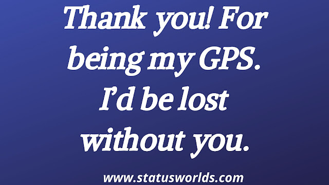 Thank You Status and Quotes