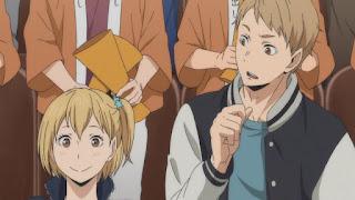 ハイキュー!! アニメ3期4話 | Karasuno vs Shiratorizawa | HAIKYU!! Season3