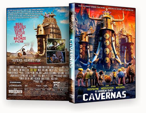 DVD – O HOMEM DAS CAVERNAS 2018 – ISO