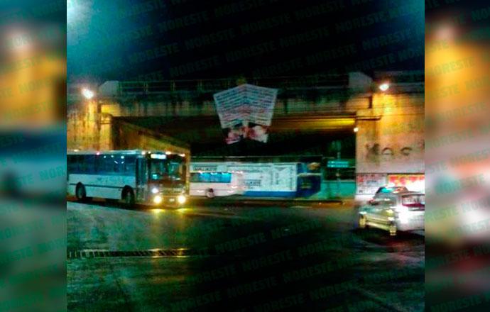 Llega el Cártel de la 35Z a Xalapa; aparecen narcomantas con todo y fotografías de ejecutados