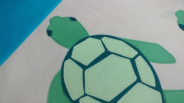 Turtle Beach quilt block
