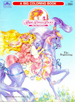 lady lovely locks coloring book