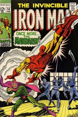 Iron Man #10, the Mandarin