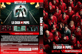 LA CASA DE PAPEL TEMPORADA 4 - 2020 [COVER - SERIES - DVD]