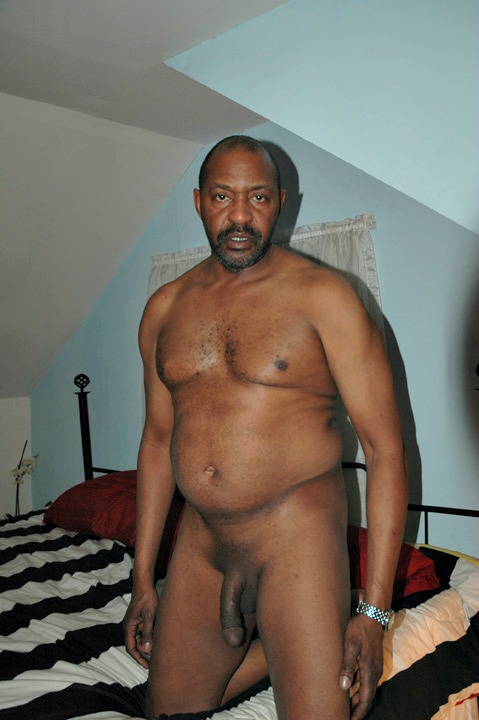 Nude Black Mature Men