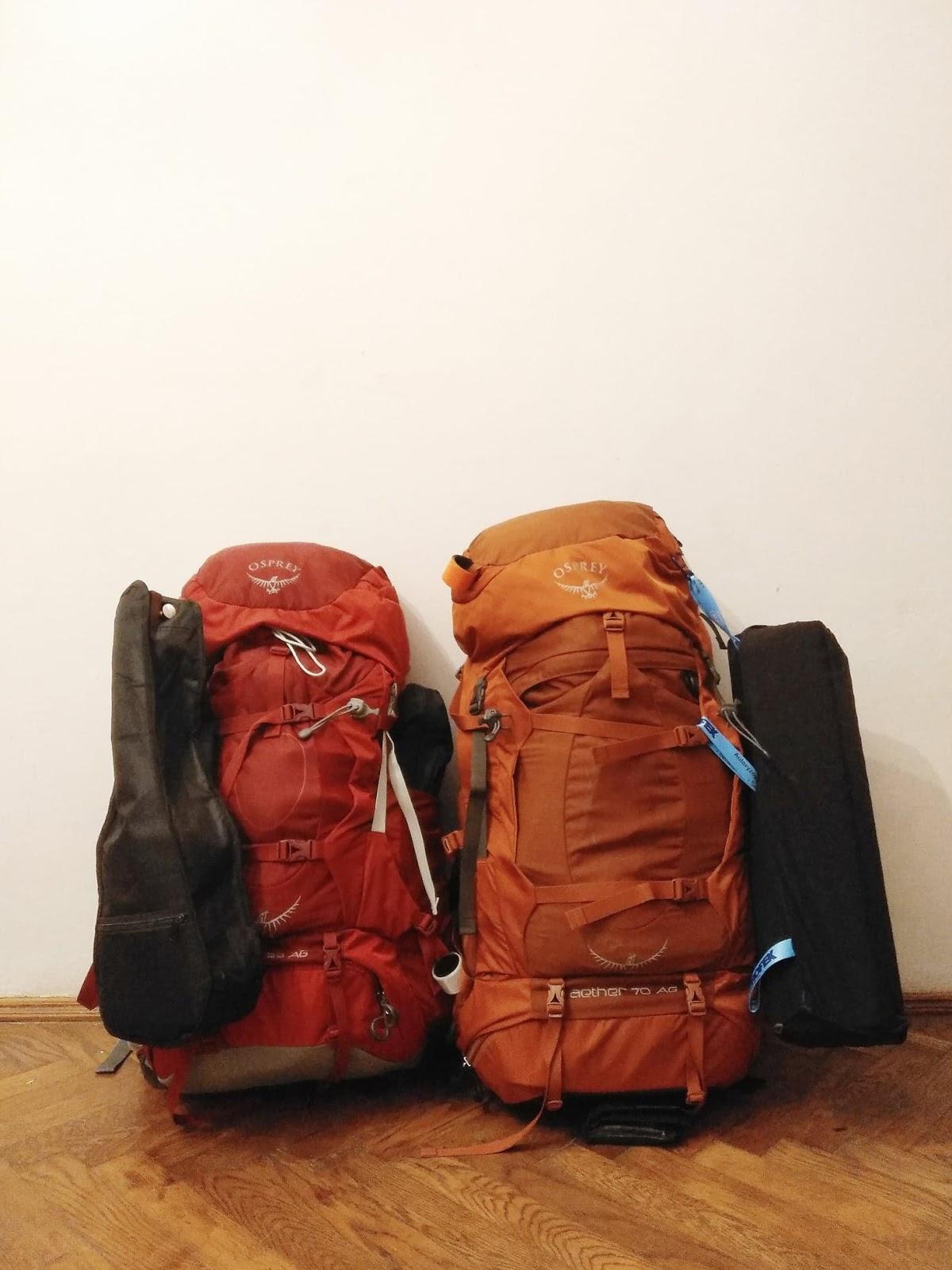 osprey | Azja | plecaki | plecak | sprzęt