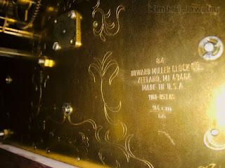 bộ máy đồng hồ Howard Miller