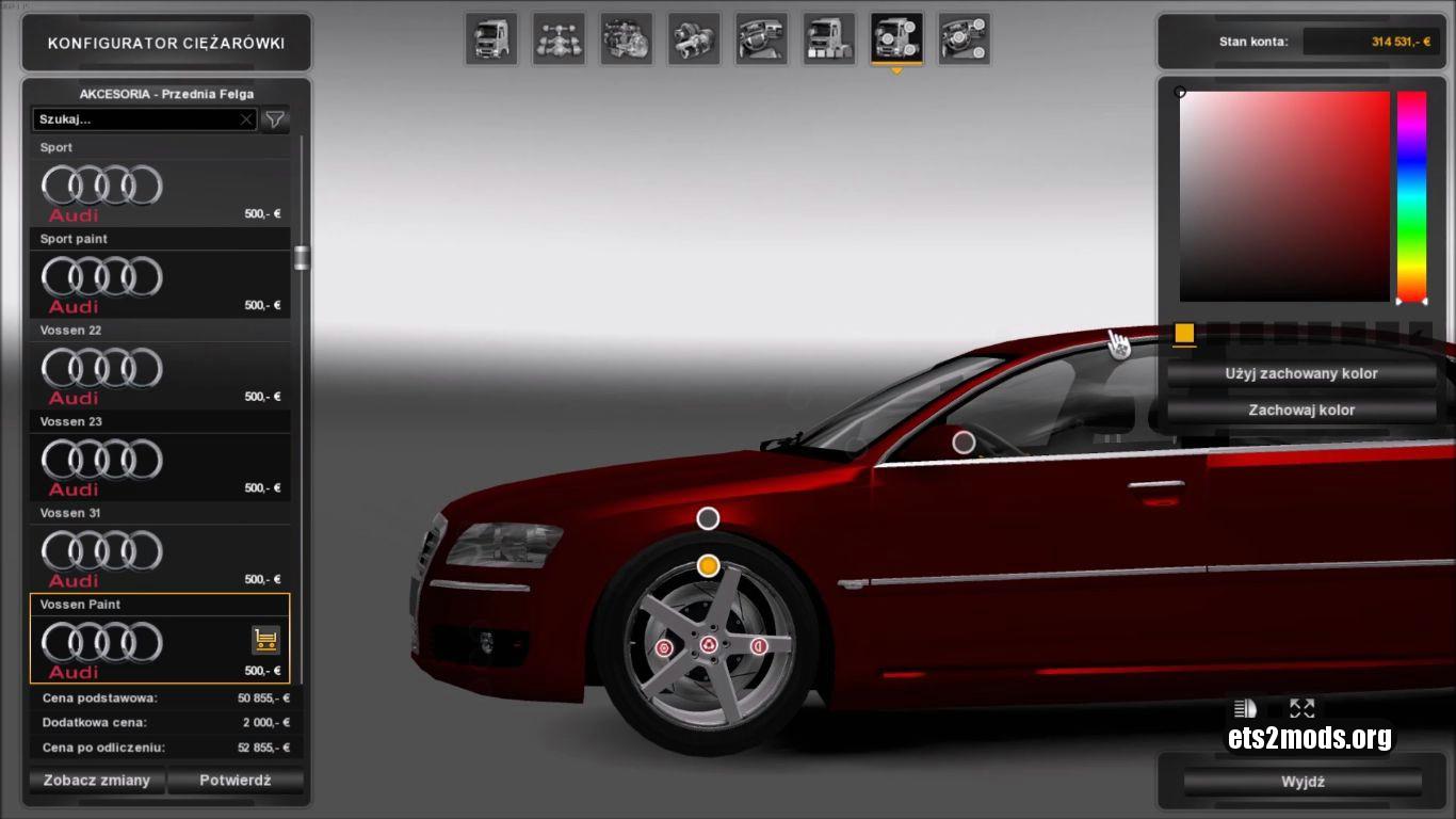 Car- Audi A8 by Diablo & Template [Updated]