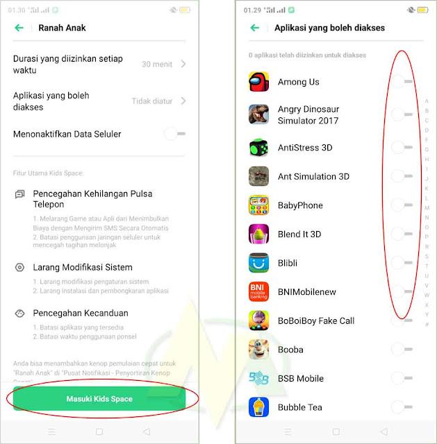 Cara Mudah Mengaktifkan Atau Seting Mode Anak Di HP Android Atau Iphone