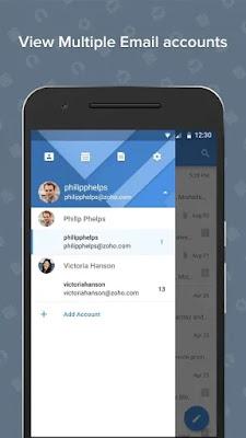 Screenshot Zoho Mail - Apcoid