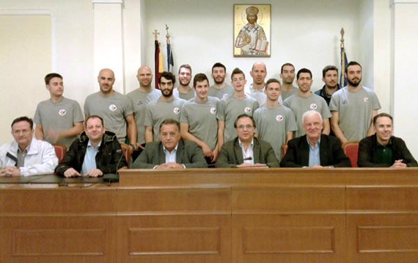 Συγχαρητήρια Α. Αγγελή στην ομάδα μπάσκετ του ΑΣ Καστοριάς (φωτογραφίες)
