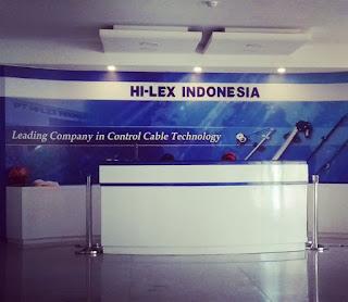 Karir Lowongan Kerja PT Hi-lex Indonesia 2020 Plant Cikarang Tangerang Cirebon