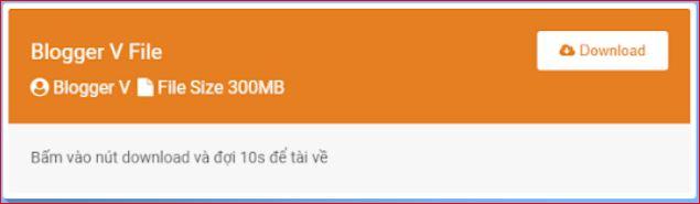 Hướng dẫn tạo nút download có bộ đếm thời gian