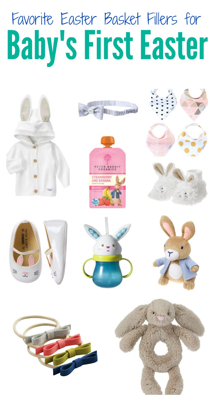 Festive Ideas For Babys First Easter Basket The Chirping Moms