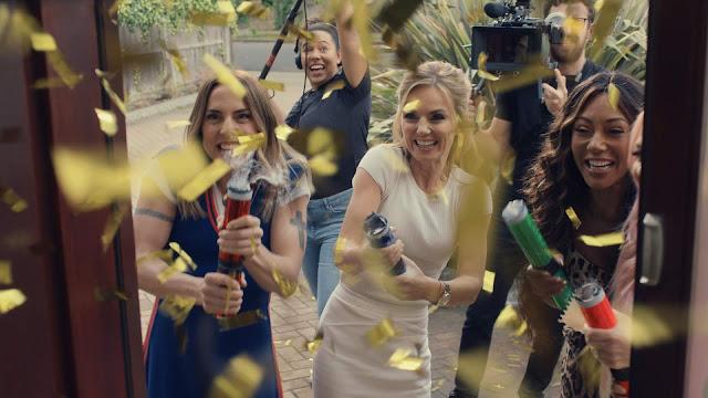 Spice Girls walkers tv advert clip