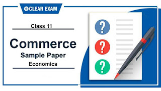 Sample Papers Class 11 Economics