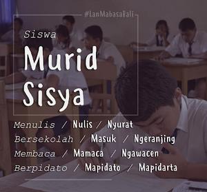 perlindungan bahasa Bali sebagai bahasa Ibu