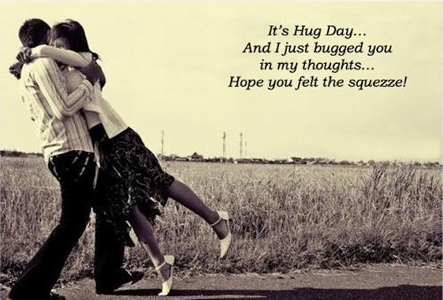 hug day sister