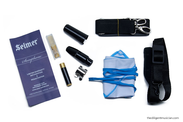 Selmer AS-400 Series Student Alto Saxophone Review Accessories