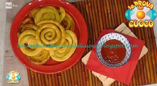 Ricetta delle Patate fritte a spirale da La Prova del Cuoco