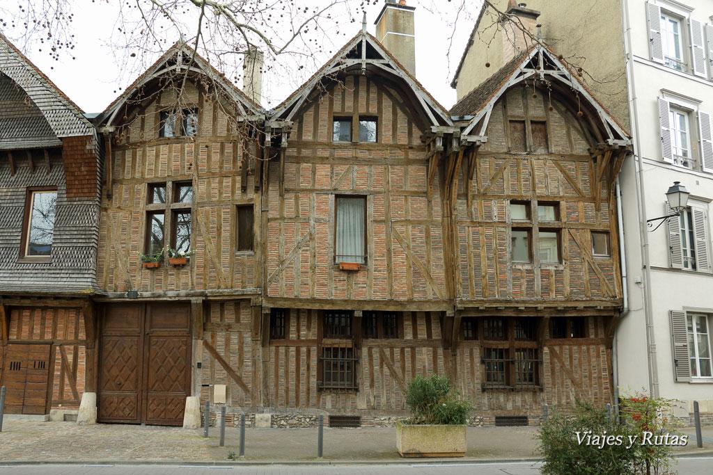 Casas de rue Passerat, Troyes
