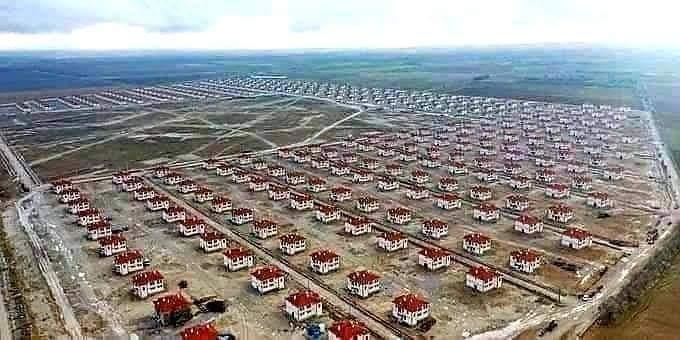 70.000 Rumah Gratis Untuk Korban Gempa Turki