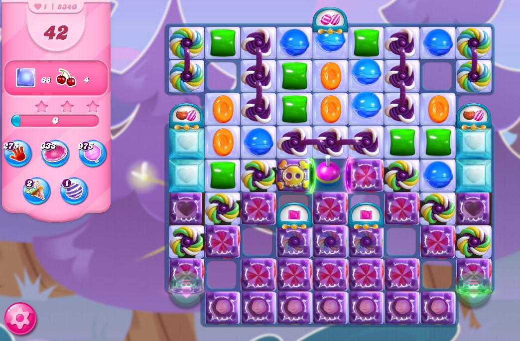 Candy Crush Saga level 8340