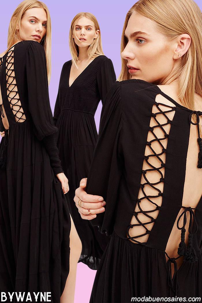 vestidos largo 2021 verano