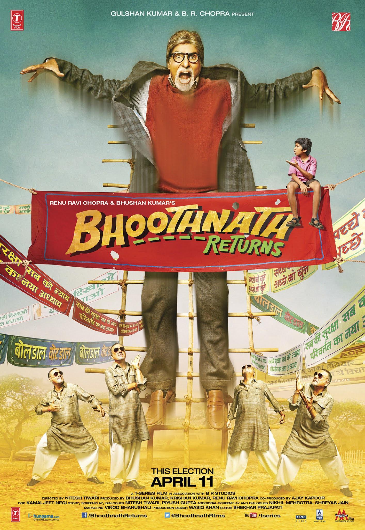 Bhoothnath Returns (2014) 1080p BluRay x265 10Bits AC3 5.1 HEVC – DJRG
